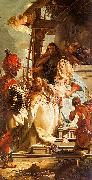 Giovanni Battista Tiepolo Mercury Appearing to Aeneas oil painting